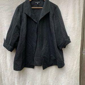 Eileen Fisher Jacket Black , 2X